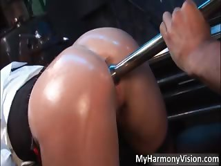 Nasty hot ass blonde Rebecca More part3