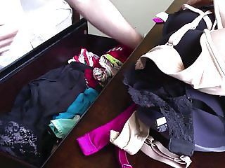 Buddies Wife's Panty Drawer - 31 Year Old Blonde - Part 1
