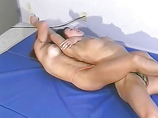 Topless Female Wrestling Charlene Rink vs. Jazz