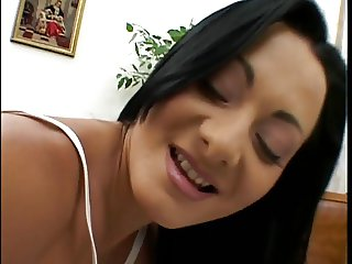 Sandra Romain getting a double anal