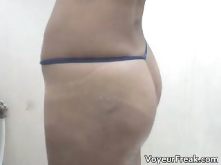 Hot babe with amazing butt and nice tits part3