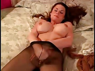 Kimberly in pantyhose
