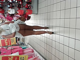 no panties in supermarket