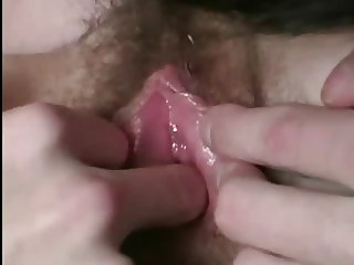 Ugly Boy Gets A Pink Hairy Pussy