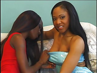 Ebony sluts pounded hard