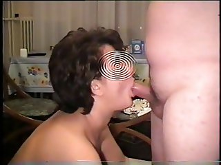 Blowjob & swallow sperm