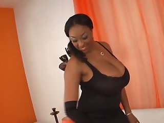 black busty slut
