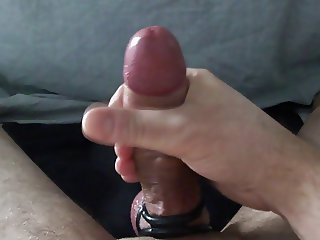 Cum explosion with cockring