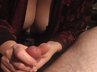 quick blow and cumshot