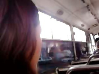 TOUCH ASS WIFE IN THE BUS 5