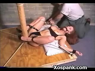 Spicy Girl Spanked Wild