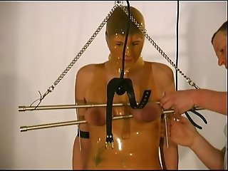 rubber bondage and boots