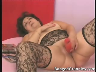 Aroused dirty brunette woman fucking part4