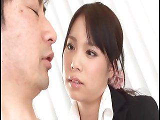 Chastisement of the female employees of the adorable face