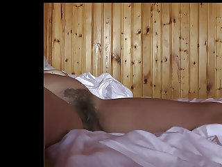 Hairy cunt my wife after fuck her in the morning