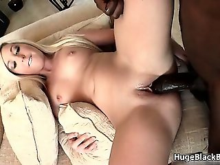 Huge black cock for this tight blonde part3