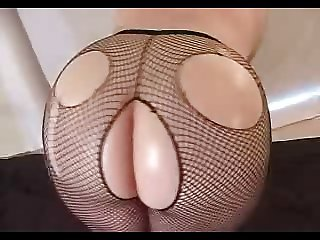 Amy's Fishnet Anal