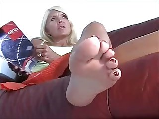 Mature Sophia's Feet 2