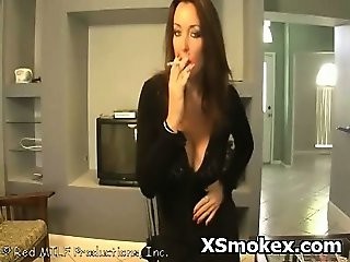 Horny Slut Smoking Nasty