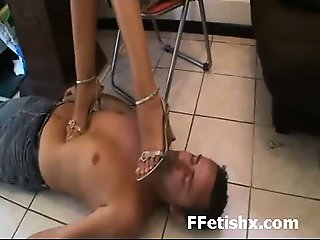 Nasty Whore Long Leg Adoring And Fetish Extreme