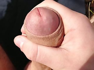 Close up of my young perfectly smooth uncut penis