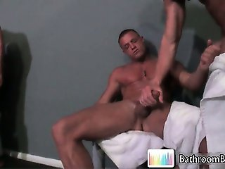 Gavin Waters in hot bathroom fucking part6