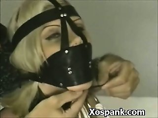 Bondage Whore Spanked In Ass