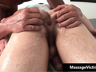Alex gets his oily tight asshole fucked part3