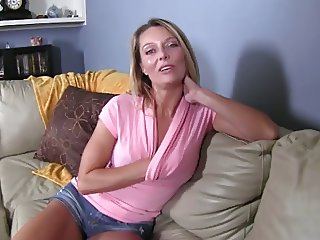 Jerk for friends mom. JOI