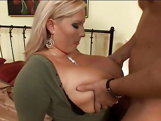 Big titted blonde gets fucked