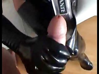 latex cum drinkinf from show