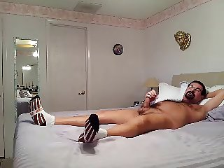 my sexy daddy again jerking