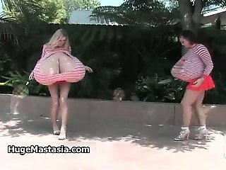 Hot busty babes get horny showing off part3