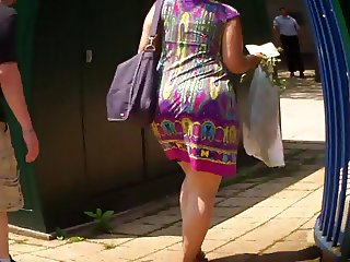 Latina Booty In Summer Dress Ass Culo
