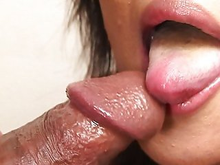 Mouth fucking Japanese girl