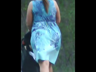 Whooty At The Falls Pawg Booty Butt Ass