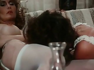 Angel in Vintage Lesbo Scene