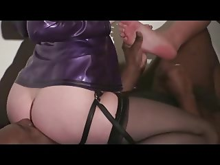 Cuckold humiliated by two mistress femdom