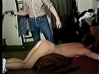 Man Spanked by Cowboy