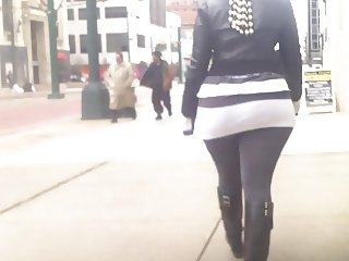 Big Ass Skirt SpandExxx Booty