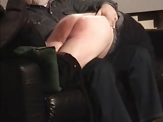 Older Daddy spanked by Onkel