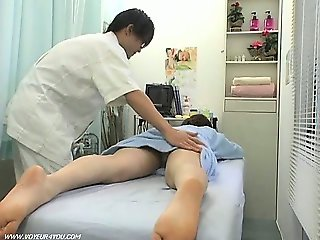 Obscene Massage Therapist Change Room