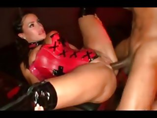 hot milf in thigh boots takes BBC in every hole