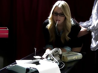 SJ Applegate smoking hot spanking