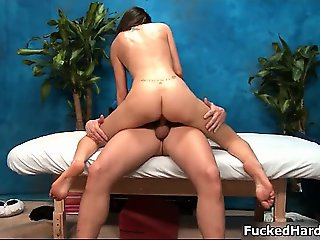 Hot babe gets her pussy fucked part4