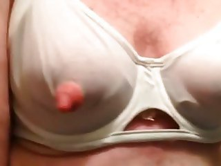 Artemus Man Tits Crossdresser Nipple Clamps