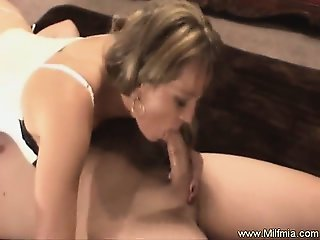 MILF Rides Cock The Old Fashioned Way