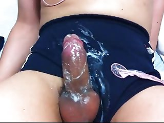 Asian Shemale Cum Many Times