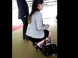 buisness women in high heels