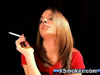 Humble Smoking Girl Porno XXX